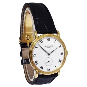 Patek Philippe Calatrava 3919J 33mm Mens Watch