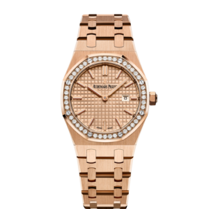 Audemars Piguet Royal Oak 67651OR.ZZ.1261OR.03 33mm Womens Watch