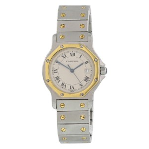 Cartier Santos Ronde 187902 29mm Womens Watch