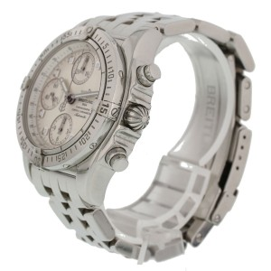 Breitling Chrono Cockpit Stainless Steel A13357