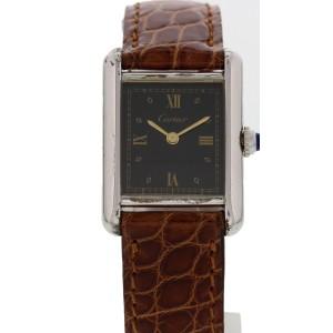 Must de Cartier Tank Vermeil Argent 5057001