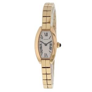 Cartier Lanieres 2592 18k Rose Gold Ladies Watch