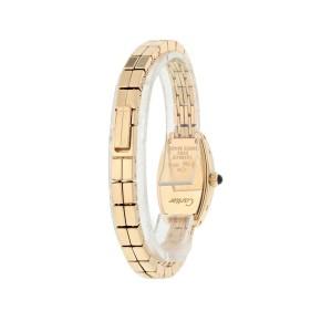 Cartier Lanieres 2592 18k Rose Gold Ladies Watch Original Box