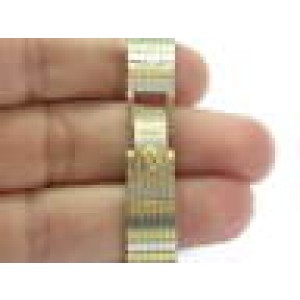 18Kt Women's Concord NATURAL Diamond Pave Yellow Gold Quartz Watch 48.5 Grams
