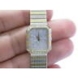 18Kt Women's Concord NATURAL Diamond Pave Yellow Gold Quartz Watch 48.5 Grams