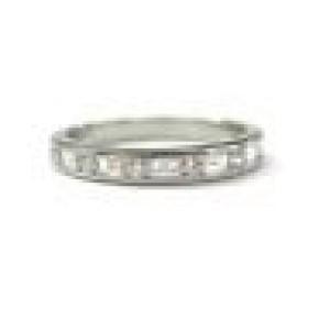 Tiffany & Co Platinum Multi Shape Diamond Band Ring Size 10.25