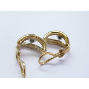 Tiffany & Co 18Kt/Platinum Diamond Ball Earrings .76Ct