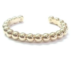 Van Cleef & Arpels 18Kt Perlee Rose Gold Cuff Bracelet 9.3mm