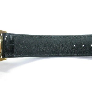 Patek Philippe 18Kt Yellow Gold Black Leather Strap Watch 2569