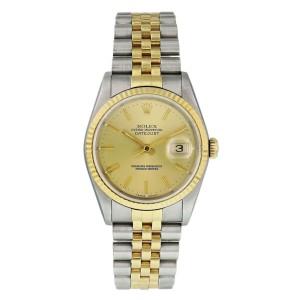 Rolex Datejust 16233 Mens Watch