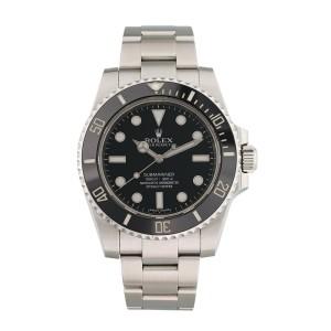 Rolex Submariner No Date 114060 Ceramic Bezel Mens Watch
