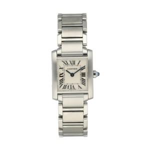 Cartier Tank Francaise 2384 Ladies Watch