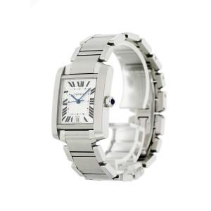 Cartier Tank Francaise 2302 Mens Watch