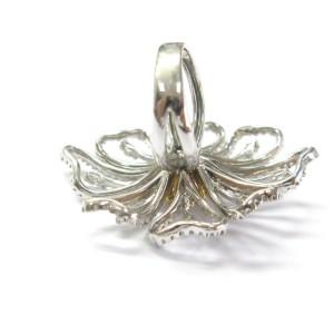 Peony Flower Multi Color Fancy Yellow Diamond White Gold Ring G-VS2 18KT 2.60Ct