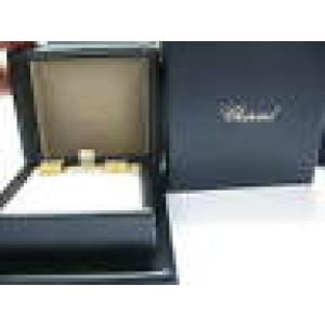 Chopard 18K Yellow Gold Large Happy Diamond Earrings 0.68CT