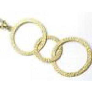 Roberto Coin 18KT Circular Yellow Gold Necklace