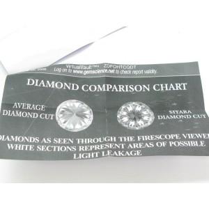 Scott Kay Diamond Three-Stone Engagement Ring Palladium Sitara Cut J-SI2 1.69Ct