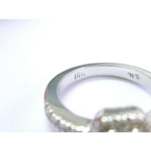 18Kt Princess Cut & Fancy Yellow Diamond Engagement White Gold Ring .82Ct