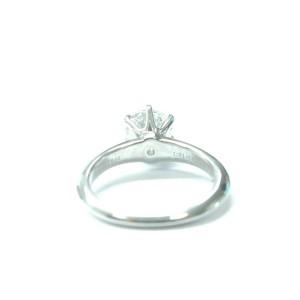 Tiffany & Co Platinum Round Diamond Solitaire Engagement Ring 1.05CT H-VVS2