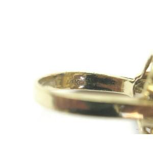 Blue Sapphire & Diamond Ring 14Kt Yellow Gold 2.10Ct