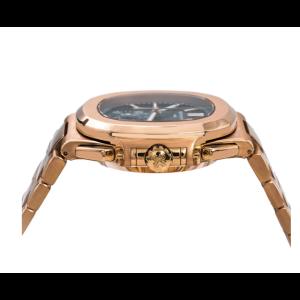 PATEK PHILIPPE NAUTILUS  ROSE GOLD WATCH 5980/1R-001 40.5MM BLACK GRADIENT DIAL