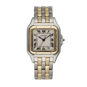 Cartier Panthere  Two Row Midsize Ladies Watch