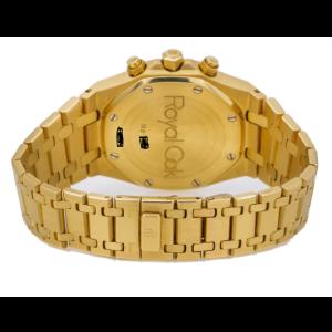 AUDEMARS PIGUET ROYAL OAK CHRONO 39MM YELLOW GOLD - 26022BA.OO.D098CR.01