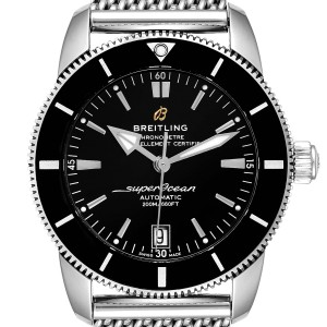 Breitling Superocean Heritage II 42 Blue Dial Steel Watch AB2010