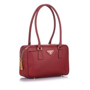 Saffiano Bauletto Shoulder Bag