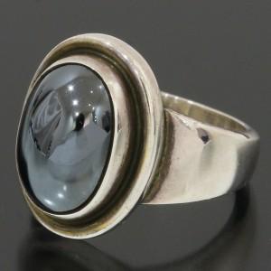 GEORG JENSEN Hematite Design Ring