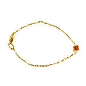 Gucci 18K Yellow Gold & Citrine Bracelet