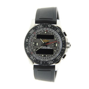 Breitling Airwolf Raven A7836423/B911 Stainless Steel Mens Watch