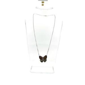 Van Cleef & Arpels 18K White Gold Flying Beauties Diamond Butterfly Pendant