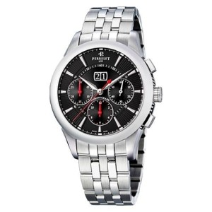 Perrelet Big Date A1008/I Stainless Steel Automatic 42mm Mens Watch
