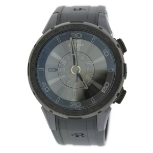 Perrelet Turbine A1079/1 Stainless Steel & Rubber Automatic 47mm Mens Watch