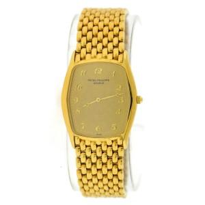 Patek Philippe Gondolo 3842/1 18K Yellow Gold Manual 28mm Mens Watch