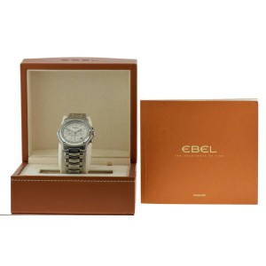 Ebel 1911 9137L40 Stainless Steel Automatic 40mm Mens Watch