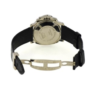 Panerai Luminor PAM189 18K White Gold & Leather Manual 40mm Mens Watch
