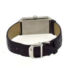Jaeger LeCoultre Reverso Classique 268.8.47 Stainless Steel & Leather Quartz 24mm Unisex Watch