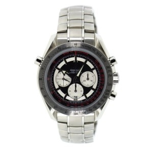 Omega Speedmaster Broad Arrow Rattrapante 3582.51.00 Chronograph Stainless Steel 44mm Mens Watch