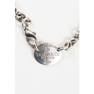 Tiffany & Co. Sterling Silver 'Please Return to Tiffany' Tag Necklace