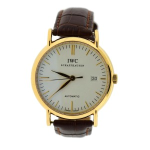 Iwc Portofino 3513 38mm Mens Watch
