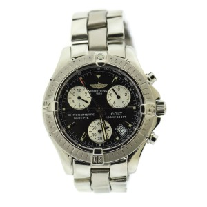 Breitling Chronograph A73350 38mm Mens Watch