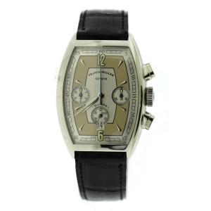 Franck Muller Casablanca Havana Chronograph Stainless Steel Watch 5850CC