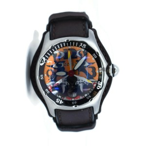 Corum Bubble Dive Bomber Stainless Steel Watch 285.181.20