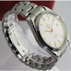 Omega Seamaster Aqua Terra 2502 34 Automatic Co Axial Rose Gold Mens