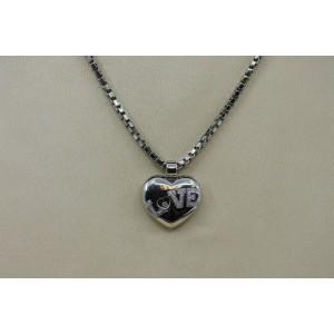 Chopard Happy Diamonds 18K White Gold Pendant Necklace