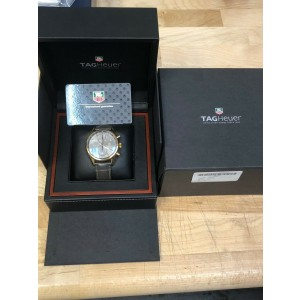 Tag Heuer Carrera Chronograph 18K Rose Gold Watch CAR2141