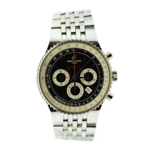 Breitling Navitimer 47 Chronograph Stainless Steel Watch A2335121