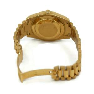 Rolex Day Date President 18K Yellow Gold Watch 218238